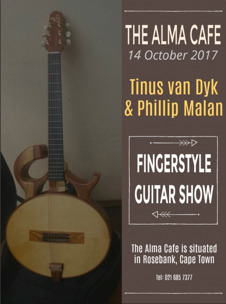 Tinus at The Alma Cafem Rosebank